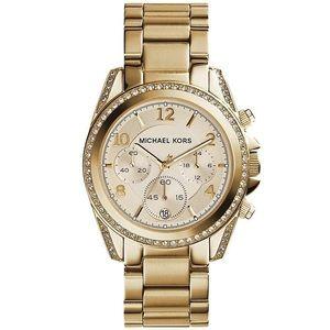 NEW Michael Kors 'Blair' Gold-Tone Watch